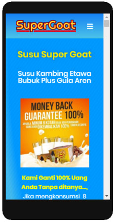 supergoat mobile friendly